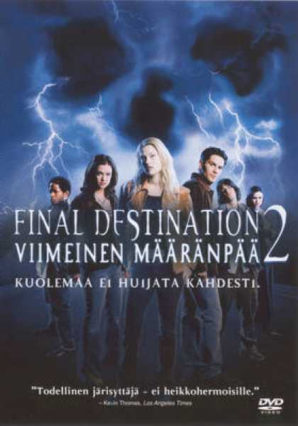 Finnish DVDs - Final Destination 2