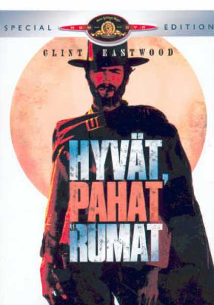 Finnish DVDs - The Good The Bad And The Ugly