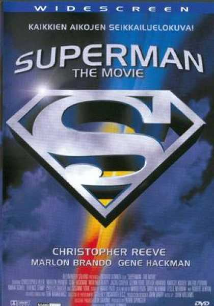 Finnish DVDs - Superman