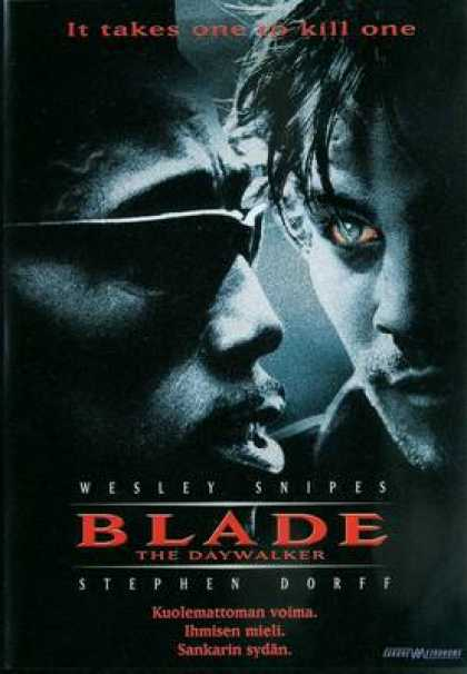 Finnish DVDs - Blade