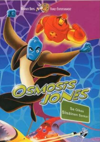 Finnish DVDs - Osmosis Jones