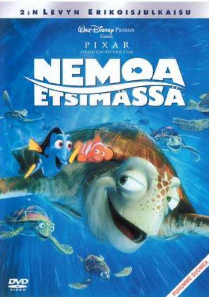 Finnish DVDs - Finding Nemo