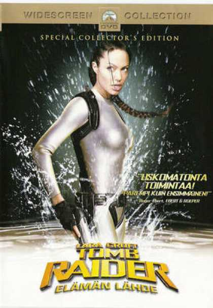 Finnish DVDs - Tomb Raider 2
