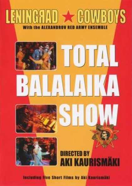 Finnish DVDs - Total Balalaika Show