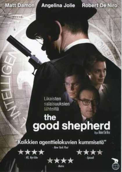 Finnish DVDs - The Good Shepherd