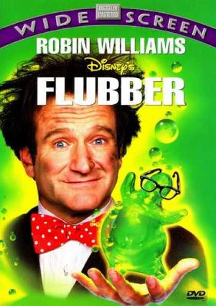 Finnish DVDs - Flubber Widescreen