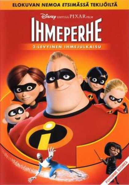 Finnish DVDs - The Incredibles Special