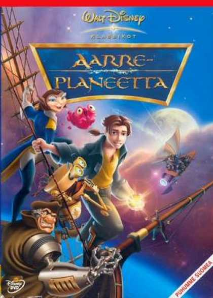 Finnish DVDs - Treasure Planet