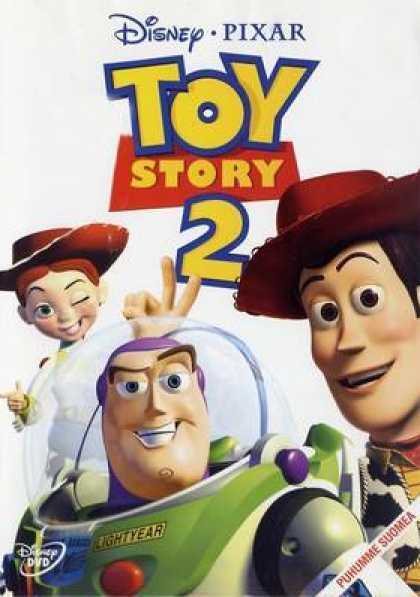Finnish DVDs - Toy Story 2