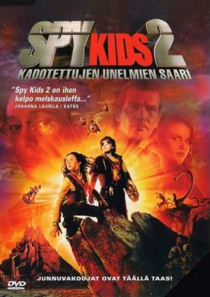Finnish DVDs - Spy Kids 2