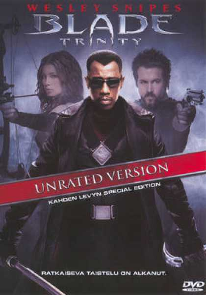 Finnish DVDs - Blade Trinity Unrated Version