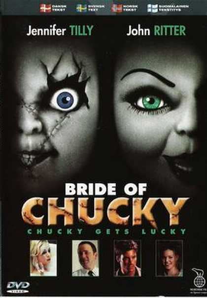 Finnish DVDs - Bride Of Chucky