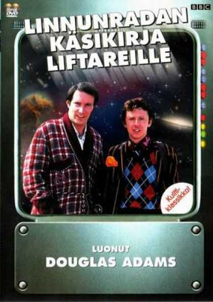 Finnish DVDs - The Hitchhikers Guide To The Galaxy