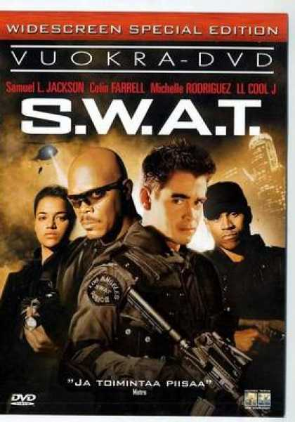 Finnish DVDs - S.W.A.T.