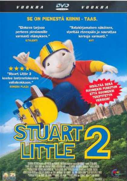 Finnish DVDs - Stuart Little 2
