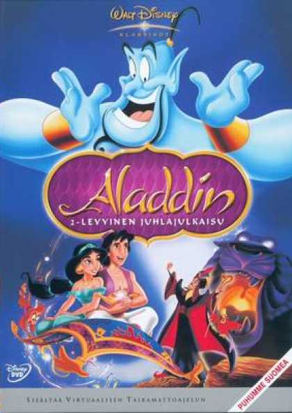 Finnish DVDs - Aladdin