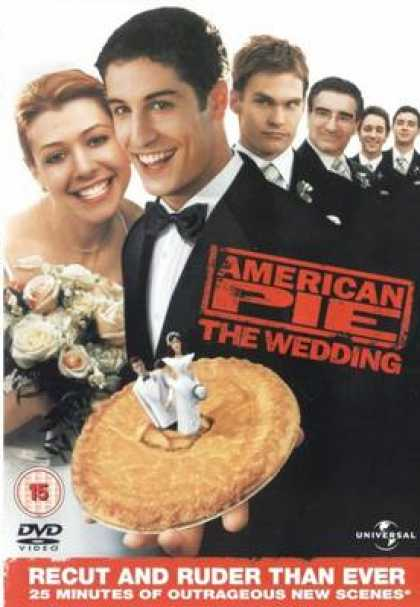 Finnish DVDs - American Pie The Wedding