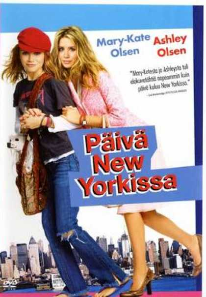 Finnish DVDs - New York Minute
