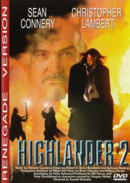 Finnish DVDs - Highlander 2 The Quickening