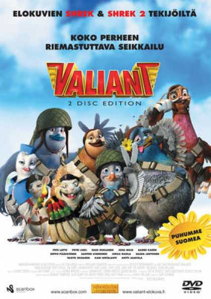 Finnish DVDs - Valiant