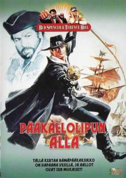 Finnish DVDs - Blackie The Pirate