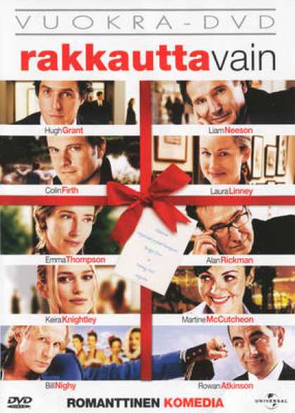 Finnish DVDs - Love Actually