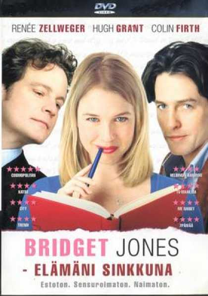 Finnish DVDs - Bridget Jones's Diary