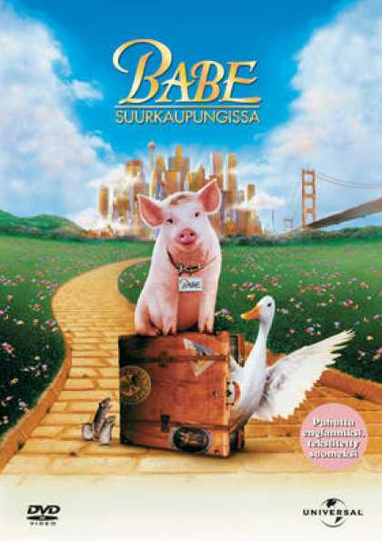 Finnish DVDs - Babe 2: Pig In The City