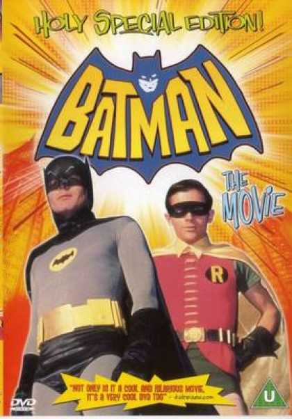 Finnish DVDs - Batman The Movie