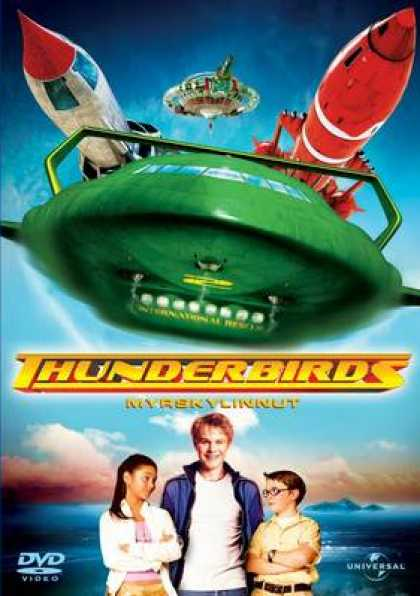 Finnish DVDs - Thunderbirds 2004