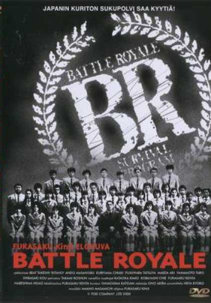 Finnish DVDs - Battle Royale