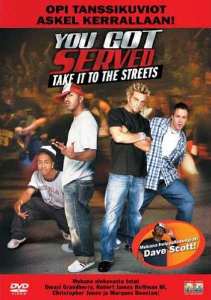 Finnish DVDs - You Got Served Take It To The Streets