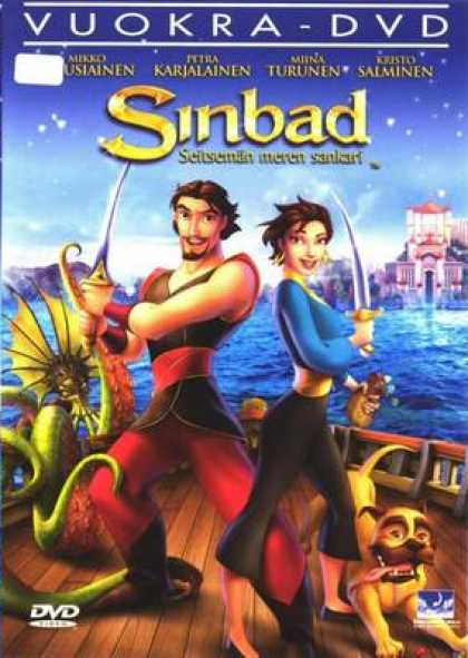 Finnish DVDs - Sinbad Legend Of The Seven Seas