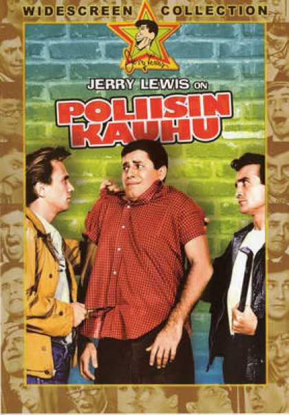 Finnish DVDs - Jerry Lewis The Delicant Delinquent