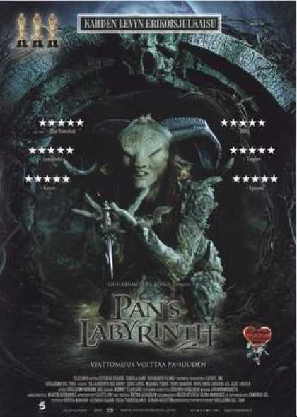 Finnish DVDs - Pan's Labyrinth