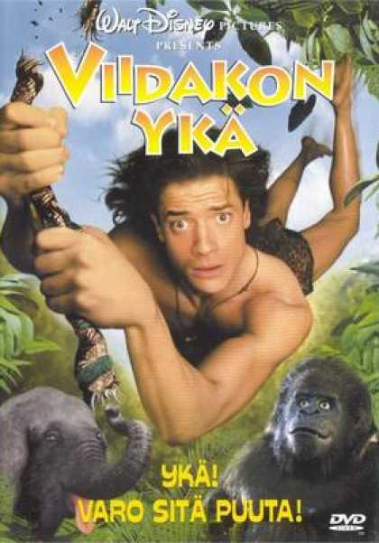 Finnish DVDs - George Of The Jungle
