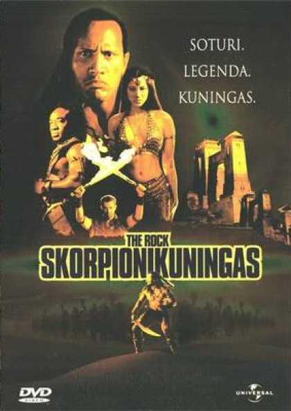 Finnish DVDs - The Scorpion King