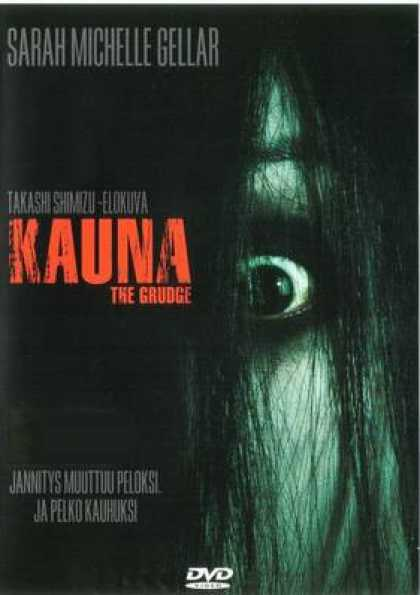Finnish DVDs - The Grudge