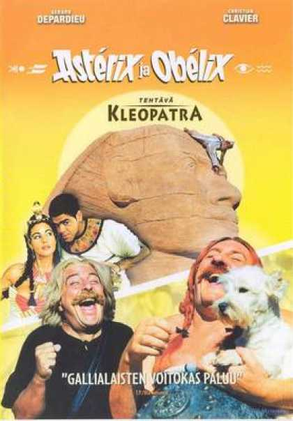 Finnish DVDs - Asterix And Obelix Mission Cleopatra