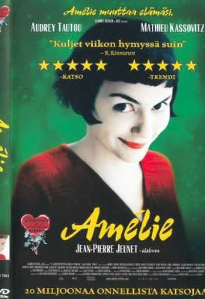Finnish DVDs - Amelie