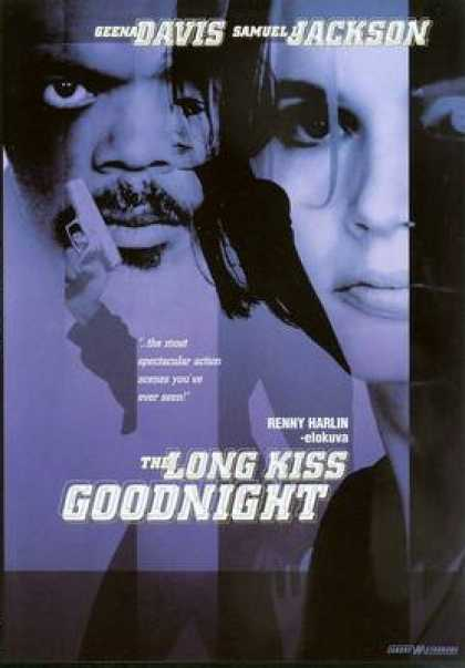 Finnish DVDs - The Long Kiss Goodnight