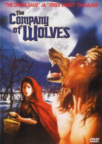 Finnish DVDs - The Company Of Wolves
