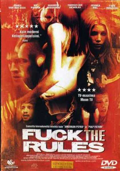 Finnish DVDs - Fuck The Rules