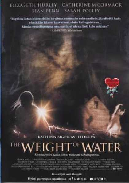Finnish DVDs - The Weight Of Water