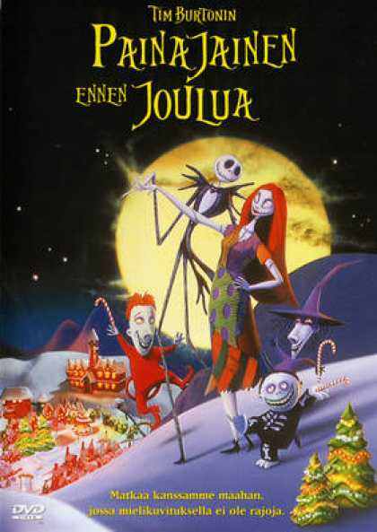 Finnish DVDs - The Nightmare Before Christmas