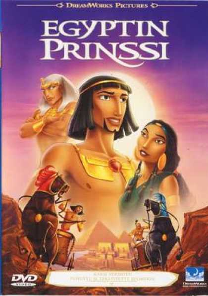 Finnish DVDs - The Prince Of Egypt