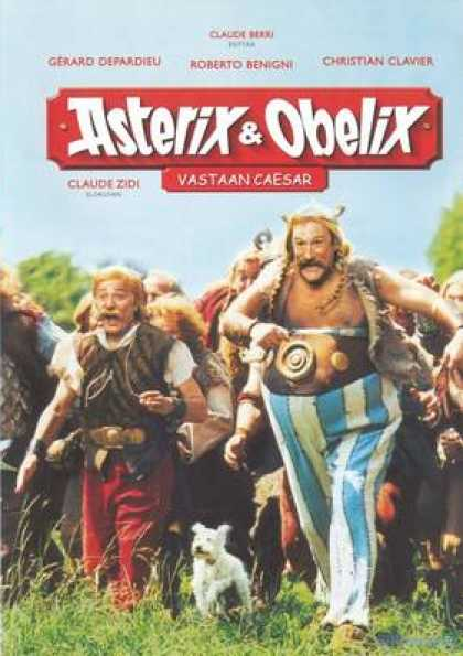 Finnish DVDs - Asterix And Obelix Against Caesar