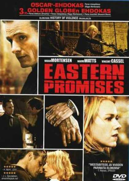 Finnish DVDs - Eastern Promises