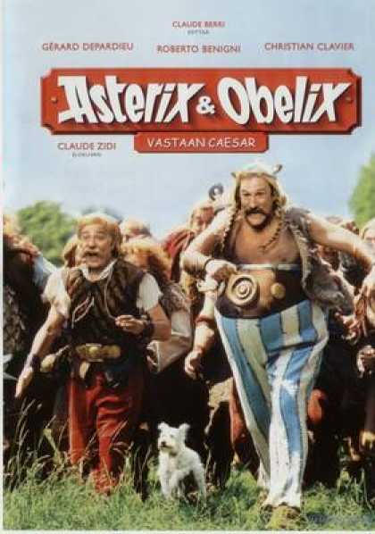 Finnish DVDs - Asterix And Obelix Vs Ceasar