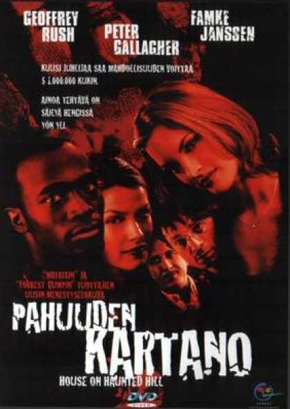 Finnish DVDs - House Of Haunted Hill